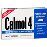 Calmol Hemorrhoidal Suppositories