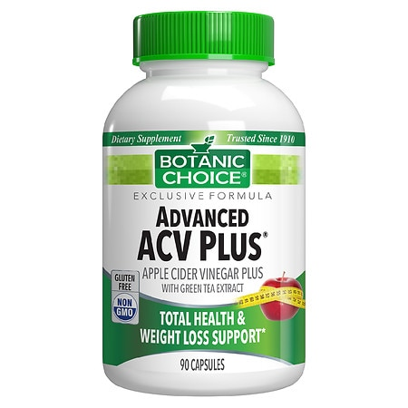 Botanic Choice Advanced ACV Plus Dietary Supplement Capsules