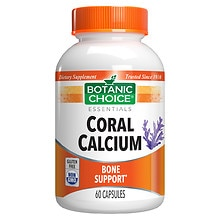 Coral Calcium Dietary Supplement Capsules