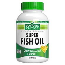 Botanic Choice Super Fish Oil Dietary Supplement Softgels