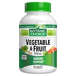 Botanic Choice Vegetable & Fruit Immune Support 750 mg Dietary Supplement
