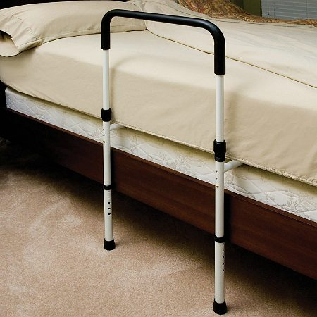 Essential Medical Hand Bed Rail with Floor Support