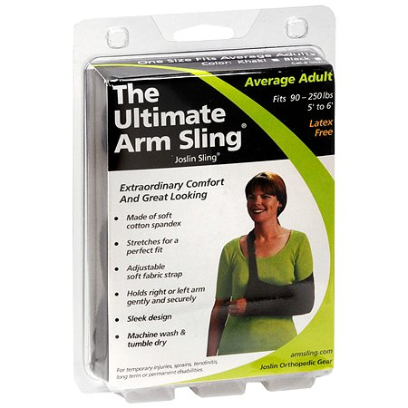 Joslin Orthopedic Gear The Ultimate Arm Sling Average Adult Black