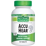 Botanic Choice Accu Hear Dietary Supplement Tablets