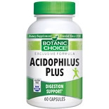 Acidophilus Plus Dietary Supplement Capsules