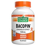Botanic Choice Bacopin 100 mg Herbal Supplement Capsules