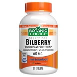 Bilberry 60 mg Dietary Supplement Tablets