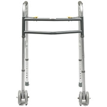 Lumex Imperial Collection Dual Release Folding Walker X Wide