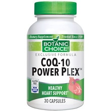 Botanic Choice CoQ10 Power Plex Dietary Supplement Capsules