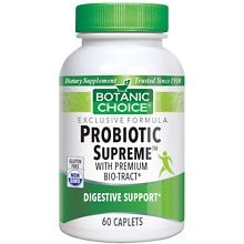 Botanic Choice Probiotic Supreme with BIO-tract Dietary Supplement Caplets