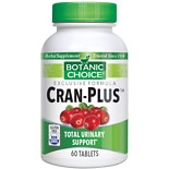 Botanic Choice Cran-Plus Herbal Supplement Tablets