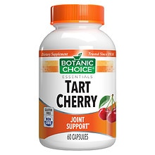 Botanic Choice Tart Cherry Dietary Supplement Capsules