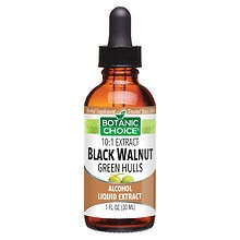 Botanic Choice Black Walnut Green Hulls Herbal Supplement Liquid