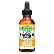 Botanic Choice Chamomile Flower Herbal Supplement Liquid