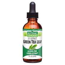 Botanic Choice Green Tea Leaf Herbal Supplement Liquid