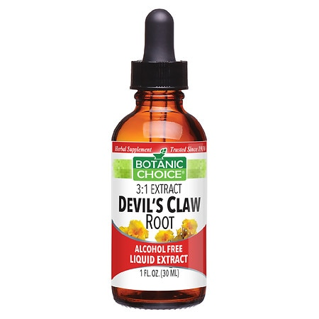 Botanic Choice Devil's Claw Root Herbal Supplement Liquid