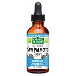 Botanic Choice Saw Palmetto Berry Herbal Supplement Liquid