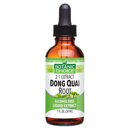 Botanic Choice Dong Quai Root Herbal Supplement Liquid
