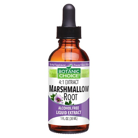 Botanic Choice Marshmallow Root Herbal Supplement Liquid