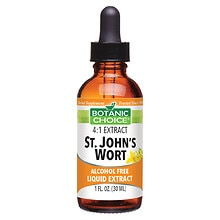 St. John's Wort Herbal Supplement Liquid