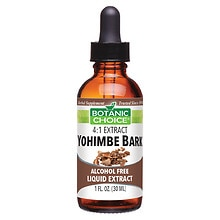 Botanic Choice Yohimbe Bark Herbal Supplement Liquid