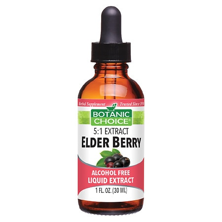 Botanic Choice Elder Berry Herbal Supplement Liquid