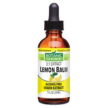 Lemon Balm Herbal Supplement Liquid