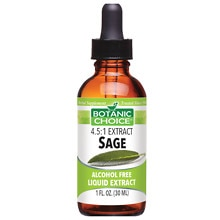 Botanic Choice Sage Herbal Supplement Liquid