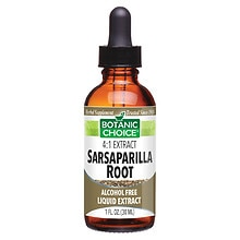 Botanic Choice Sarsaparilla Root Herbal Supplement Liquid