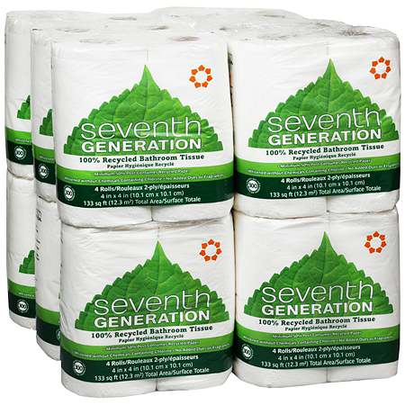 Seventh Generation Bathroom Tissue 12-4 Packs
