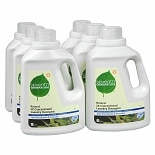 Seventh Generation Natural 2X Concentrated Laundry Detergent Liquid Eucalyptus & Lavender,6 Pack