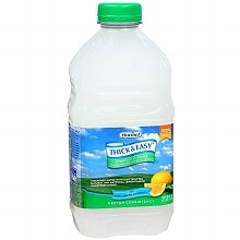 Hormel Thick & Easy Hydrolyte Water Nectar Consistency Thickened Water with Lemon