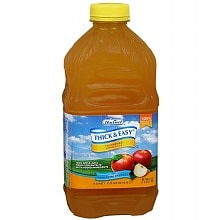 Hormel Thick & Easy Thickened Apple Juice Honey Consistency 48 oz Bottles