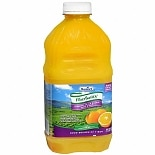 Fiber Basics Orange Juice Blend with Fiber 48 oz Bottles