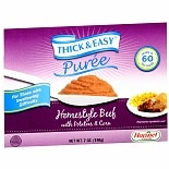 Hormel Thick & Easy Puree, 7 Pack Homestyle Beef with Potatoes & Corn