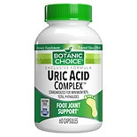 Botanic Choice Uric Acid Complex Dietary Supplement Capsules