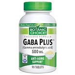 Botanic Choice GABA Plus 500 mg Dietary Supplement Tablets