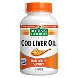 Cod Liver Oil Dietary Supplement Softgels