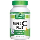 Botanic Choice Super C Plus Dietary Supplement Capsules