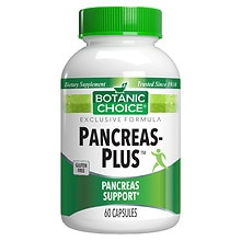 Pancreas-Plus Dietary Supplement Capsules