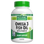 Omega 3 Fish Oil with Vitamin D Dietary Supplement Softgels
