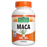 Botanic Choice Maca 500 mg Herbal Supplement Capsules