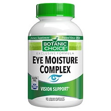 Botanic Choice Eye Moisture Complex Dietary Supplement Liquid Capsules