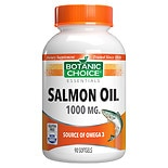 Botanic Choice Salmon Oil 1000 mg Dietary Supplement Softgels