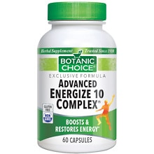Advanced 10 Complex Herbal Supplement Capsules