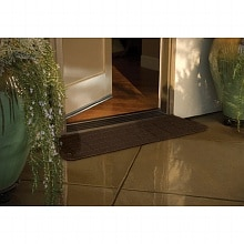 Rubber Threshold 12 x 42 inches, Antique Bronze