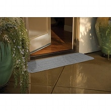 PVI Bighorn Plastic Threshold 12 x 42 inches Granite Gray