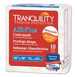Tranquility Air-Plus Underpads 30 x 36 inch