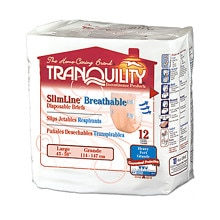 Tranquility SlimLine Breathable Briefs Large