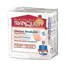 Tranquility SlimLine Breathable Briefs Extra Large